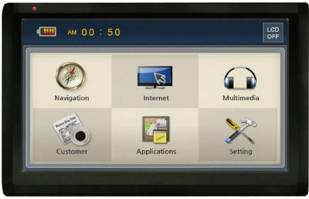 navigation Actis 7 WiFi
