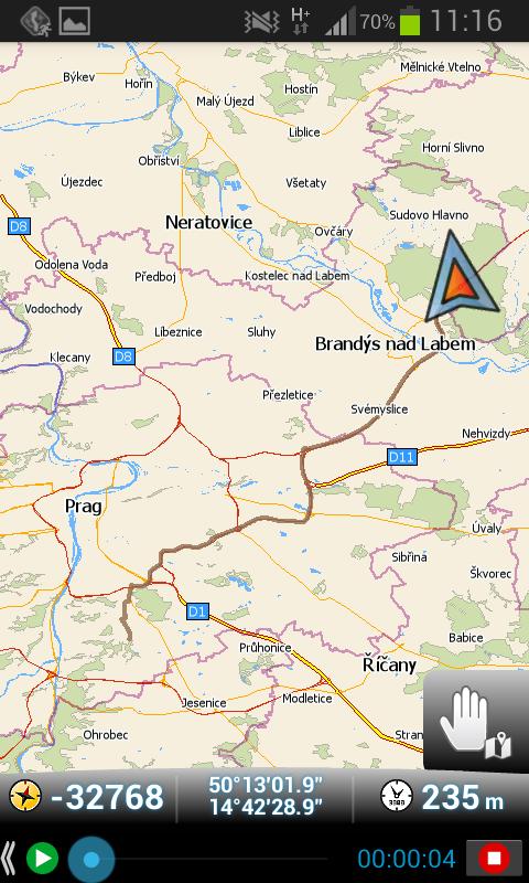 GPS Dateien – auf der Karte anzeigen